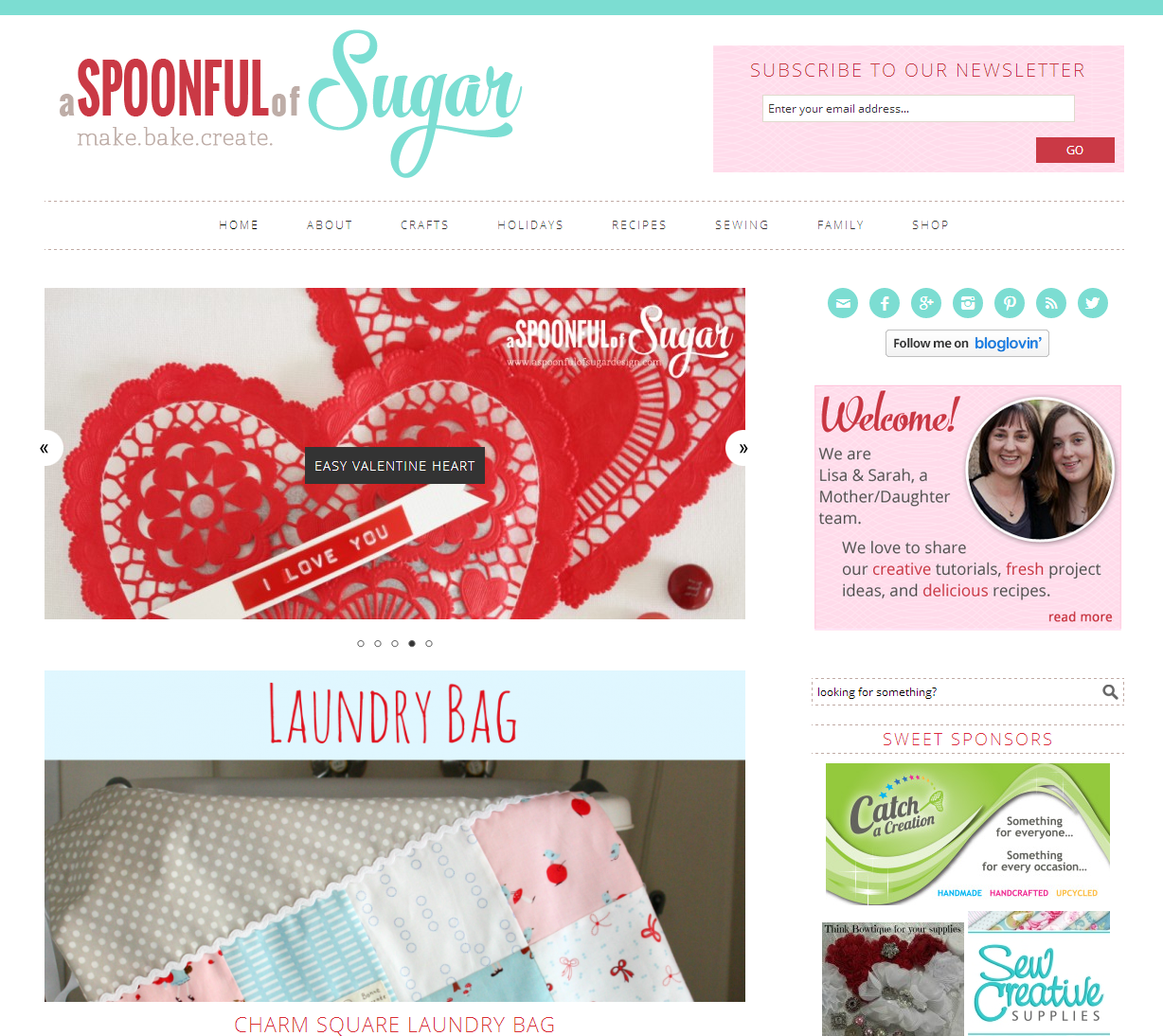 Spoonful of Sugar – Home Page