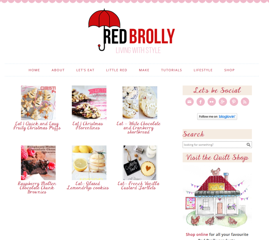 Red Brolly - Categories