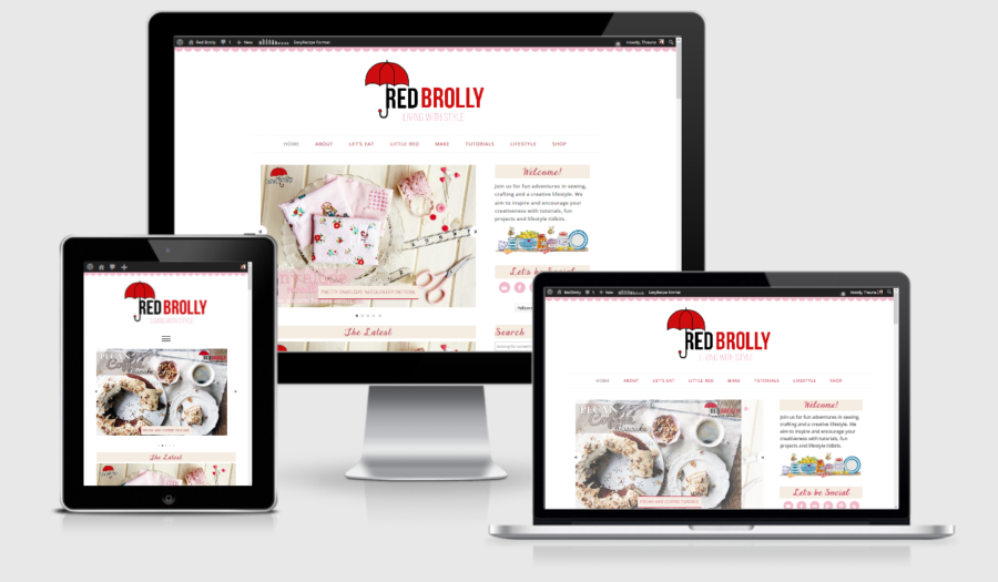 Red Brolly Responsive