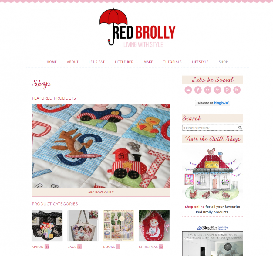 Red Brolly Shop