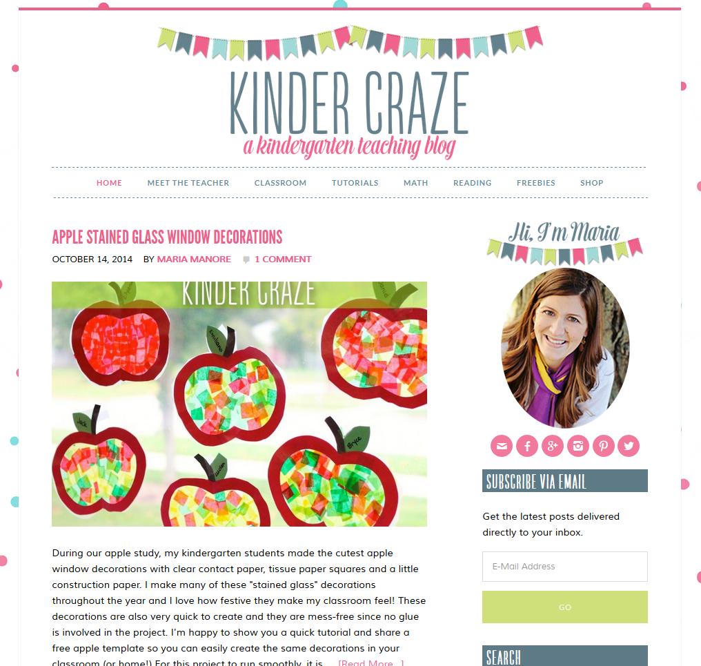 Kinder Craze Home Page