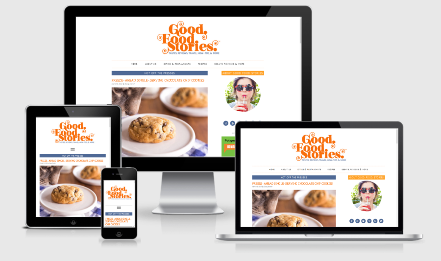 Good Food Stories - Mobile Responsive