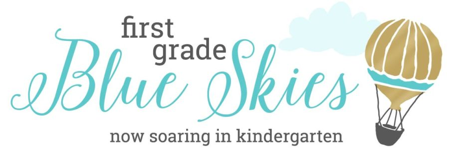First Grade Blue Skies - Logo