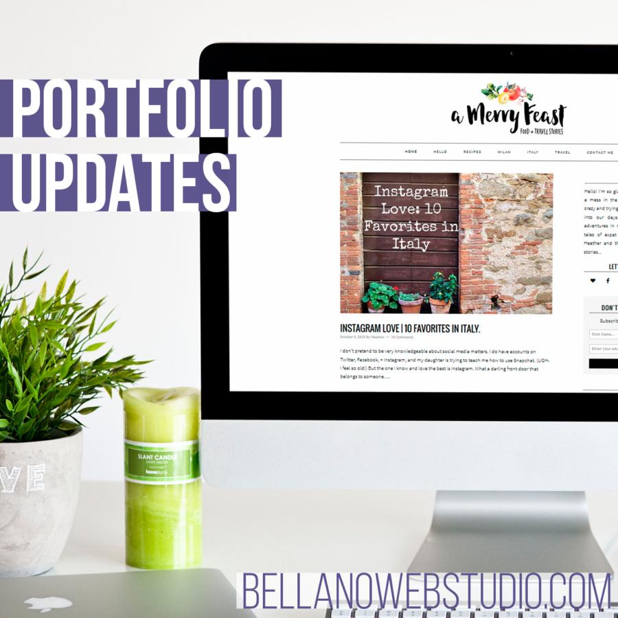 October Porfolio Updates