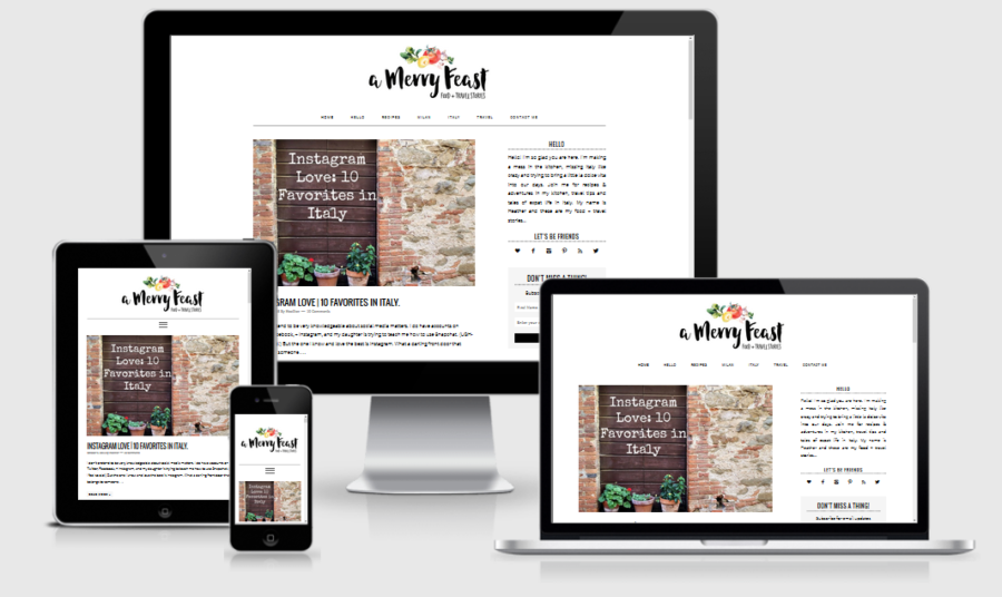 A Merry Feast Responsive
