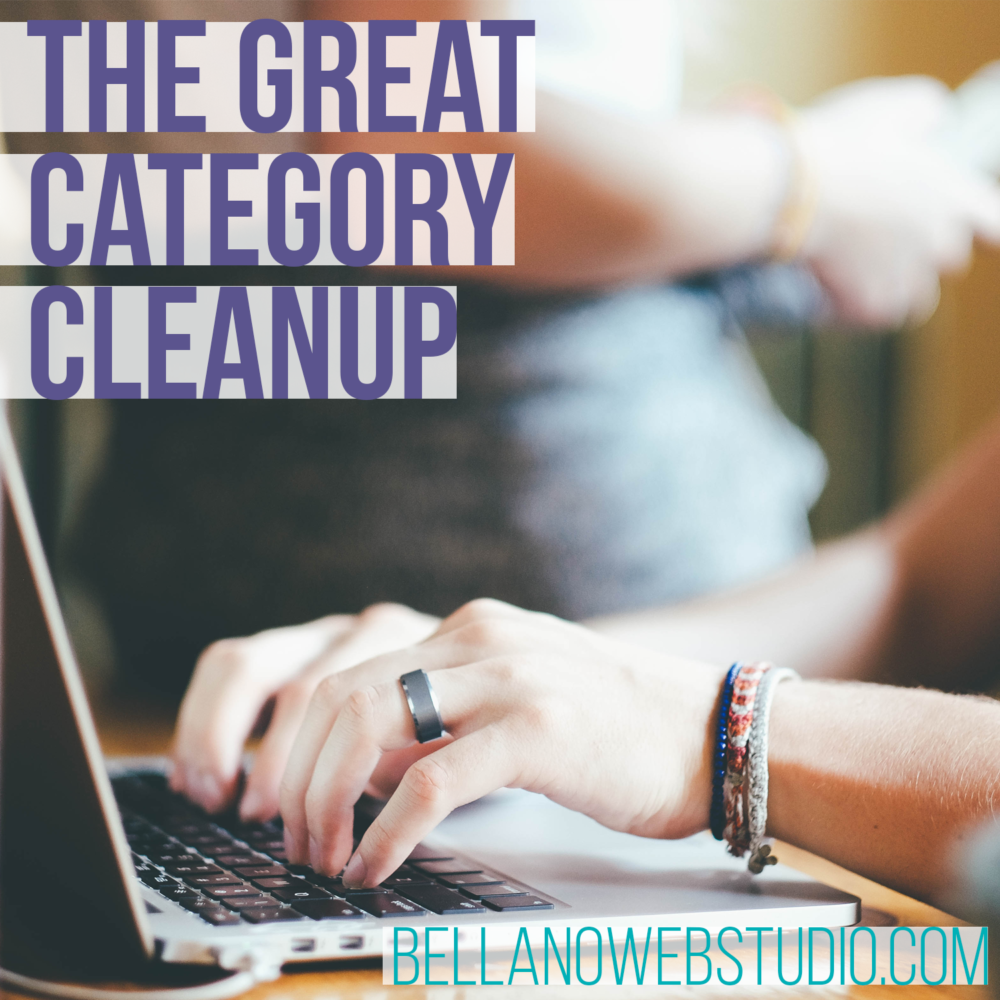 The Great Category Cleanup