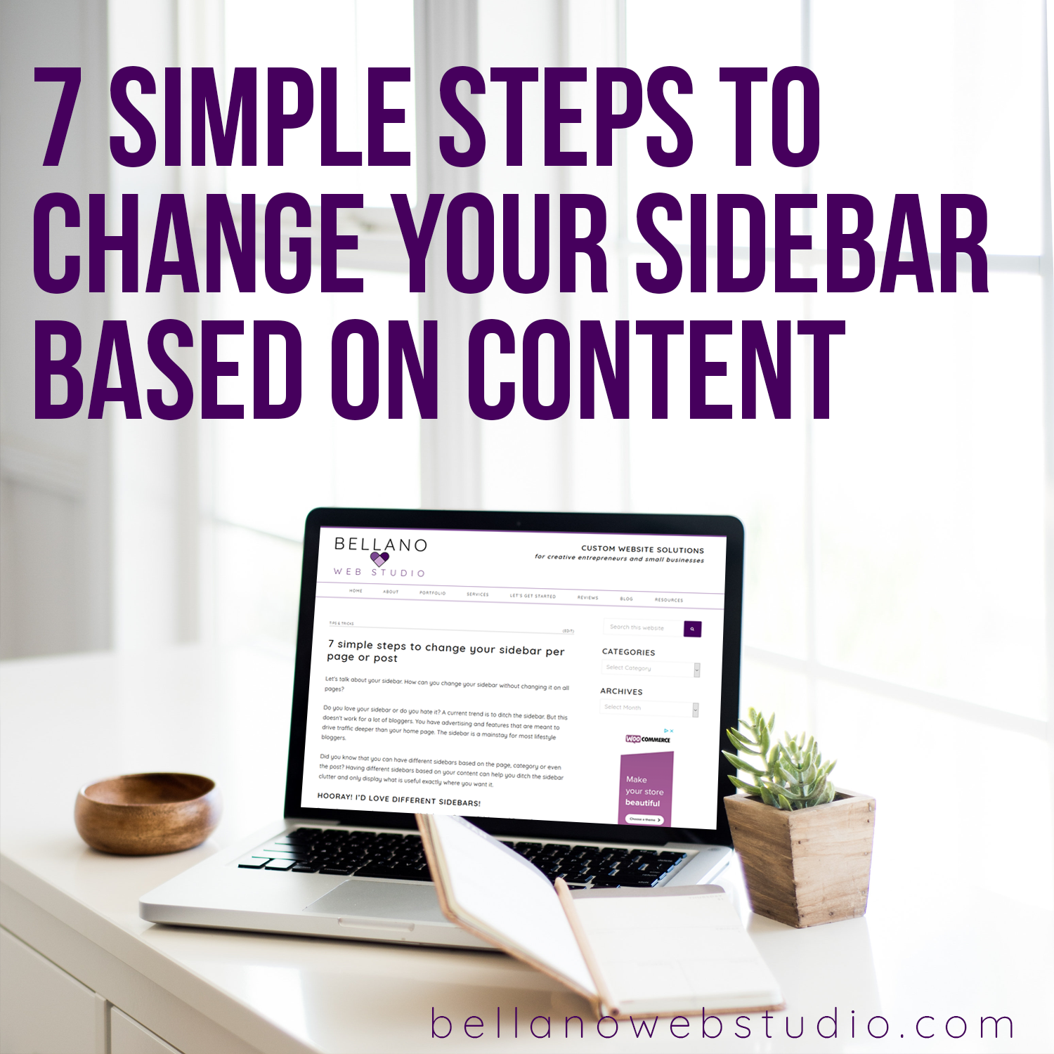 7 Simple Steps to Change Your Sidebar per Page or Post