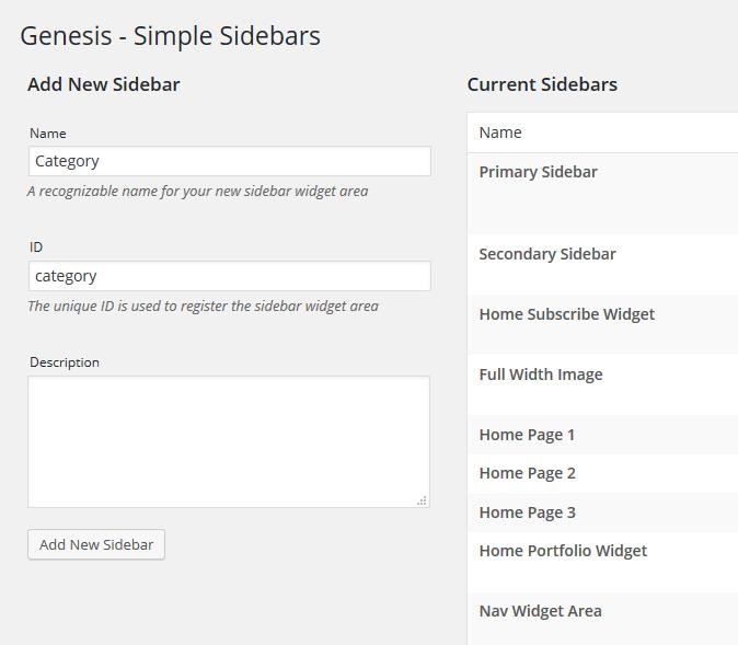 Change Your Sidebar step3