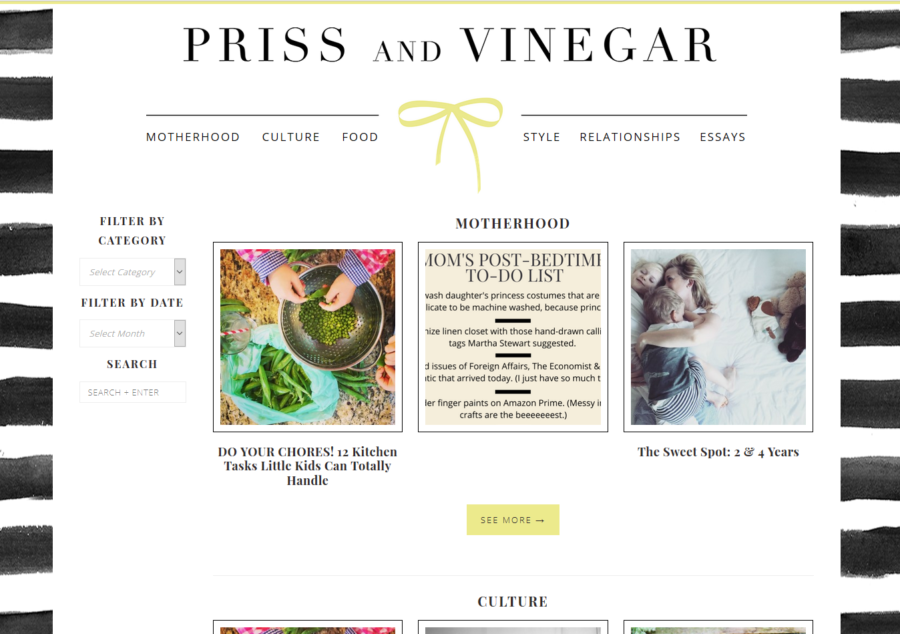 Priss & Vinegar Index