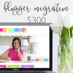 Custom WordPress Design - Blogger Migration