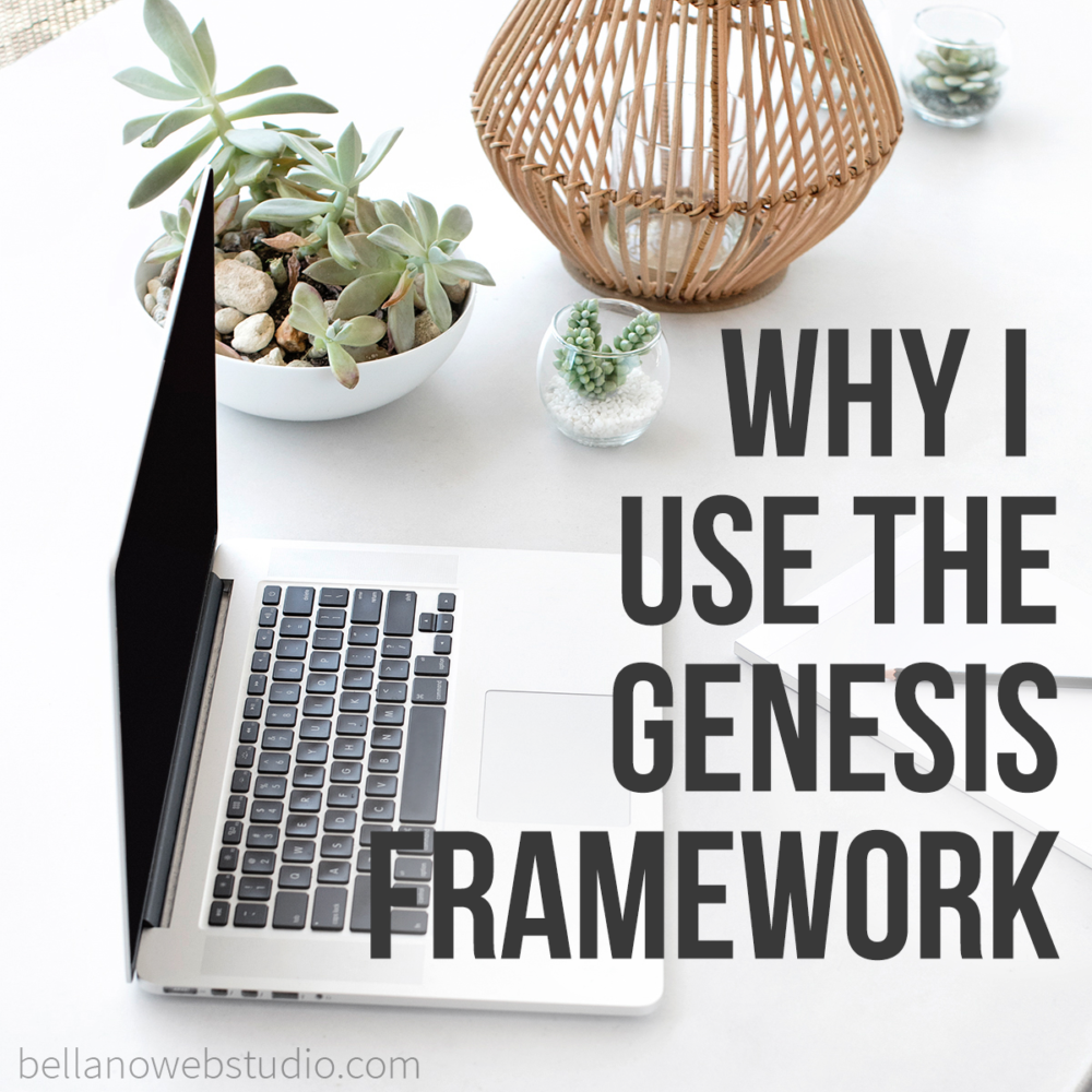 Why I use the Genesis Framework