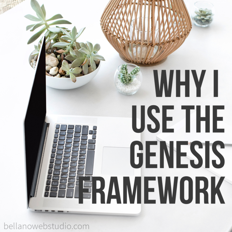 Why I use the Genesis Framework