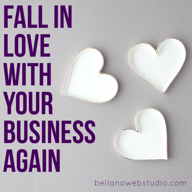 Love is in the air. Are you in love with your business?