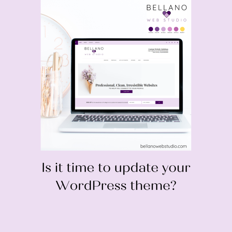 Is it time to update your WordPress theme?